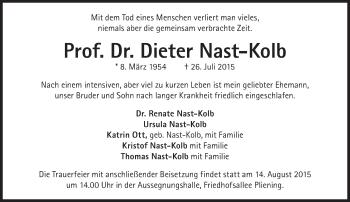 Zur Gedenkseite von Dieter Nast-Kolb