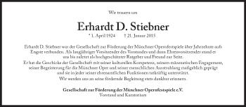 Zur Gedenkseite von Erhardt D. Stiebner