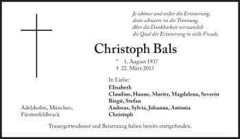 Zur Gedenkseite von Christoph Bals
