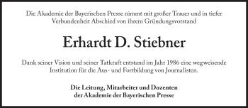 Zur Gedenkseite von Erhardt Stiebner