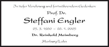 Zur Gedenkseite von Steffani Engler