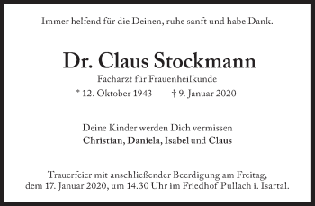 Claus Stockmann