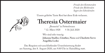 Theresia Ostermaier