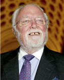 Portraitfoto von Richard Attenborough